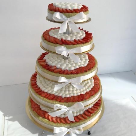 Gâteau à étages classique 1 parfum