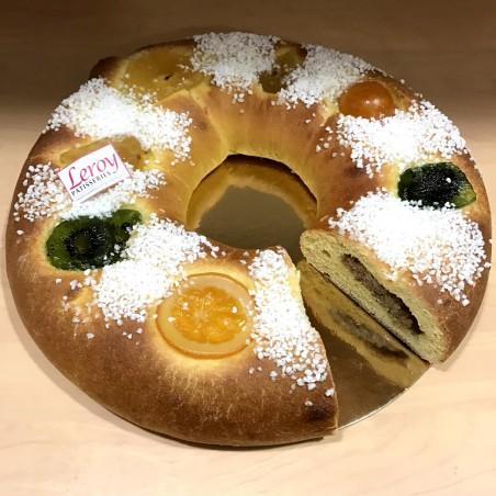 Gâteau des rois (brioche)