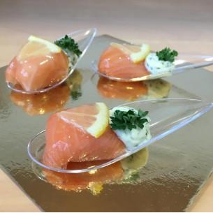 Cuillère aux 2 saumons